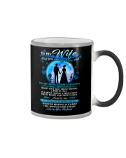 Family Wife beautiful inside and out Color Changing Mug thumbnail