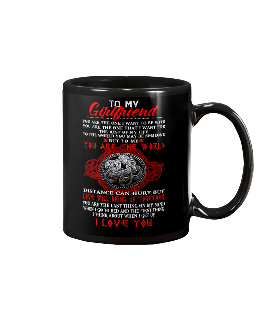 You Are The One I Want To Be With Viking Mug