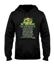 Words Begin Tell How I Feel Farmer Hooded Sweatshirt thumbnail