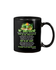 Words Begin Tell How I Feel Farmer Mug front