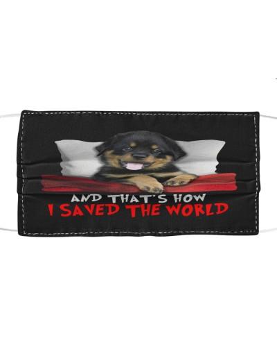 Dog Rottweiler How I Saved The World