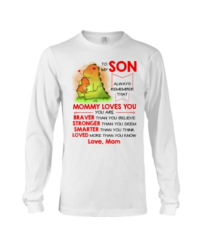 Dinosaur Son Mom Loves You Mug