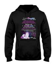 I Want You To Believe Deep In Your Heart Unicorn Hooded Sweatshirt thumbnail