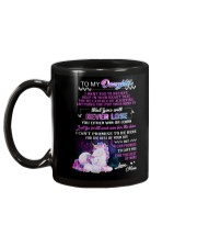 I Want You To Believe Deep In Your Heart Unicorn Mug back