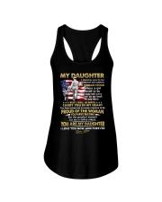 Veteran Daughter Mom I Closed My Eyes  Ladies Flowy Tank thumbnail