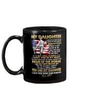 Veteran Daughter Mom I Closed My Eyes  Mug back