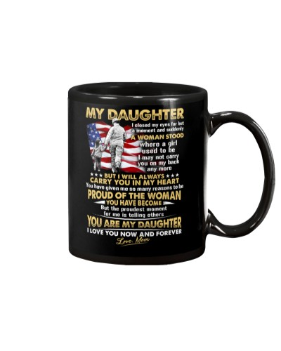 Veteran Daughter Mom I Closed My Eyes