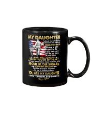 Veteran Daughter Mom I Closed My Eyes  Mug front