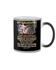 Veteran Daughter Mom I Closed My Eyes  Color Changing Mug thumbnail