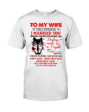 Love Made Us Together Wolf Classic T-Shirt thumbnail