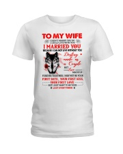 Love Made Us Together Wolf Ladies T-Shirt thumbnail