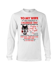 Love Made Us Together Wolf Long Sleeve Tee thumbnail