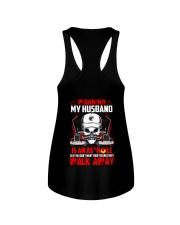 My Husband Is An Asshole Trucker Ladies Flowy Tank thumbnail