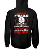 My Husband Is An Asshole Trucker Hooded Sweatshirt thumbnail
