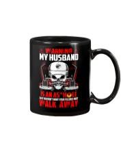 My Husband Is An Asshole Trucker Mug thumbnail