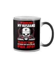 My Husband Is An Asshole Trucker Color Changing Mug thumbnail