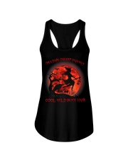On A Dark Desert Highway Witch Cool Wind In My  Ladies Flowy Tank thumbnail