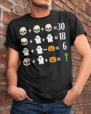 Math Teacher Halloween Math Teacher Costume Classic T-Shirt apparel-classic-tshirt-lifestyle-26