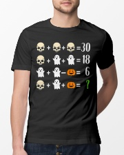 Math Teacher Halloween Math Teacher Costume Classic T-Shirt lifestyle-mens-crewneck-front-13