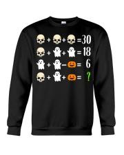 Math Teacher Halloween Math Teacher Costume Crewneck Sweatshirt thumbnail