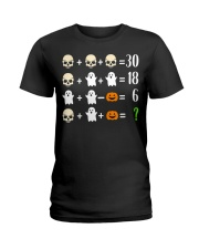 Math Teacher Halloween Math Teacher Costume Ladies T-Shirt thumbnail