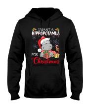 I Want A Hippopotamus For Christmas Xmas Hippo For Hooded Sweatshirt thumbnail