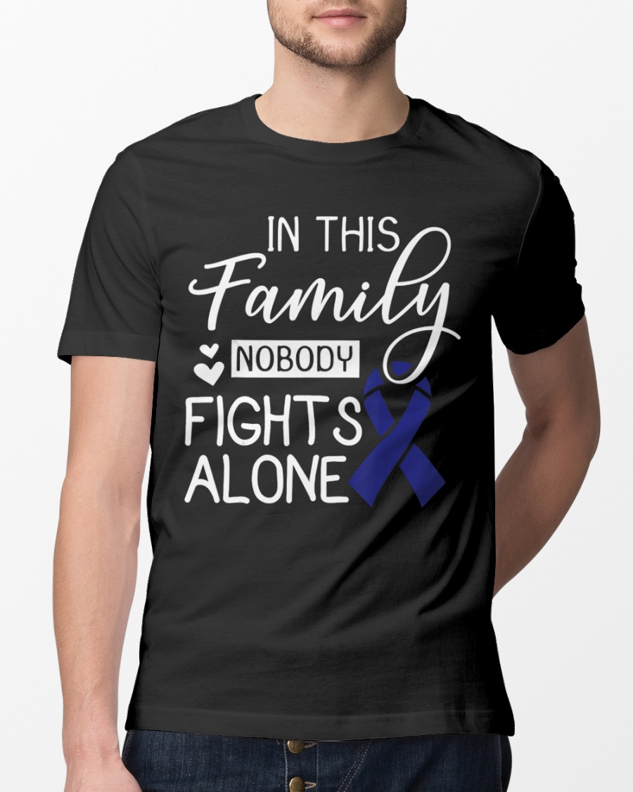 In Family Nobody Fights Alone Colorectal Cancer