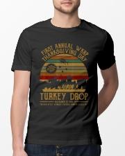 Turkeythanksgiving Wkrp-Turkey-Drop Classic T-Shirt lifestyle-mens-crewneck-front-13