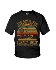 Turkeythanksgiving Wkrp-Turkey-Drop Youth T-Shirt thumbnail