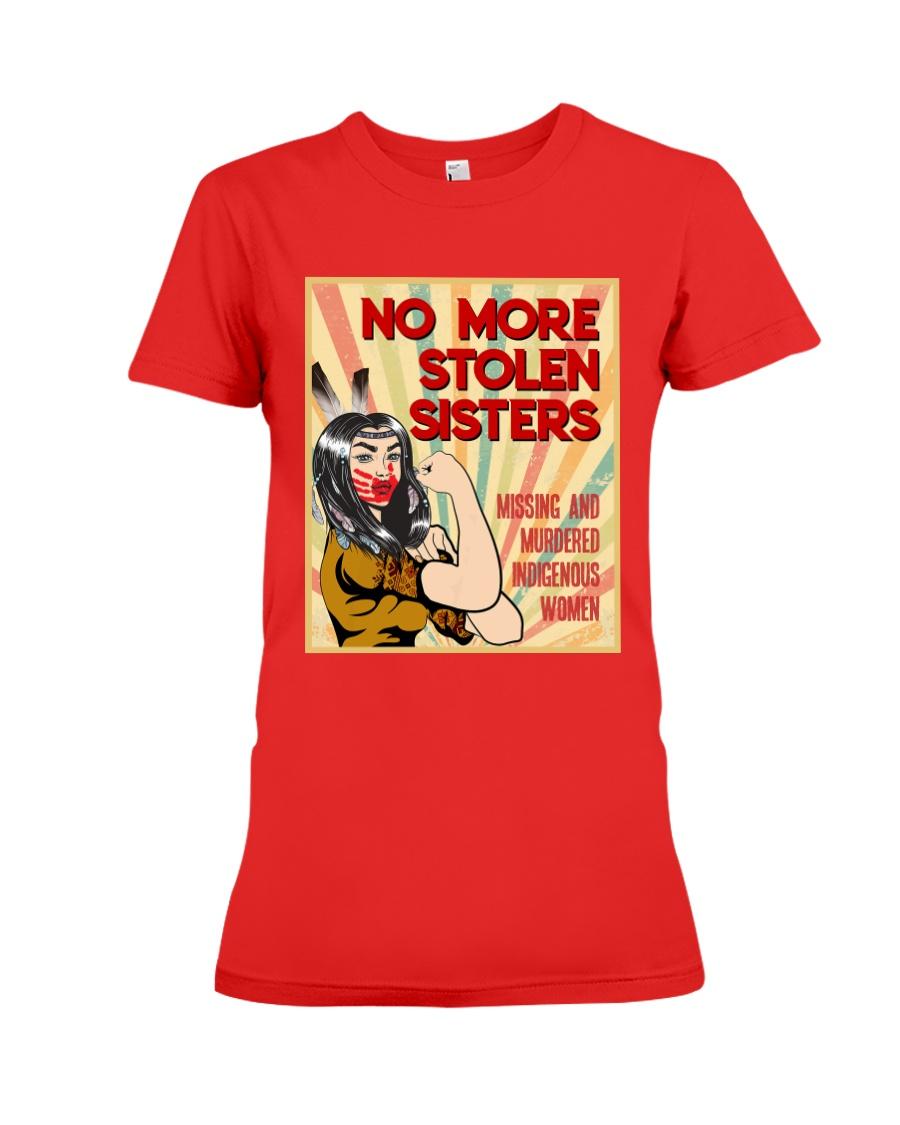 No More Stolen Sisters - MMIW Premium Fit Ladies Tee