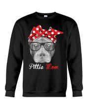Pittie Mom Crewneck Sweatshirt thumbnail