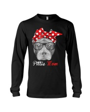 Pittie Mom Long Sleeve Tee thumbnail