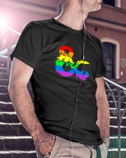 DnD Rainbow LGBT Pride Classic T-Shirt lifestyle-mens-crewneck-front-5