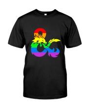 DnD Rainbow LGBT Pride Premium Fit Mens Tee thumbnail