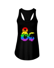 DnD Rainbow LGBT Pride Ladies Flowy Tank thumbnail