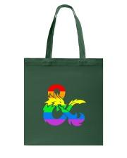 DnD Rainbow LGBT Pride Tote Bag thumbnail