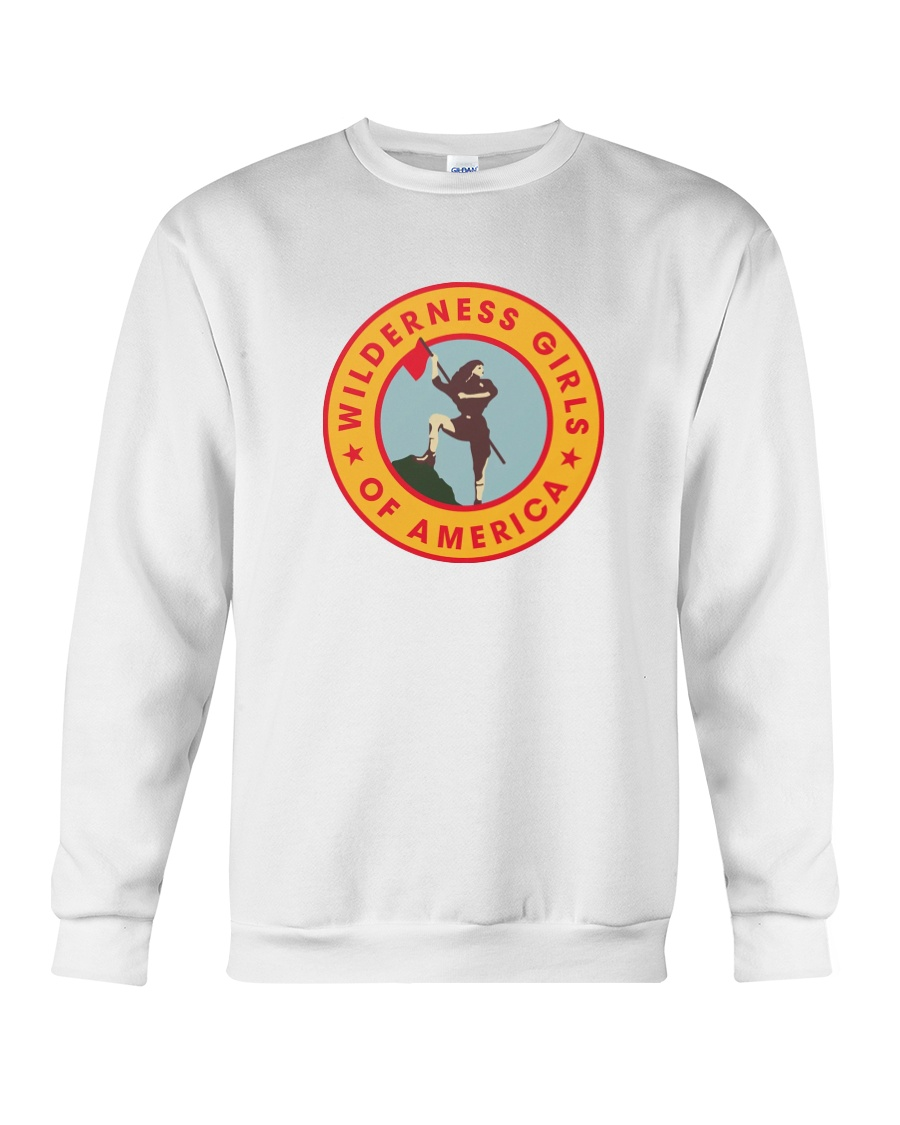 Wilderness Girls Of America Sweater and Shirt Crewneck Sweatshirt