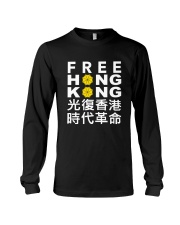 FreeHongKong - Stand with Hong Kong Shirt Long Sleeve Tee thumbnail