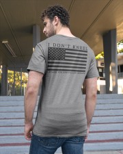 I Don't Kneel I stand for Our Fallen Heroes Shirt Classic T-Shirt apparel-classic-tshirt-lifestyle-back-48