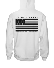 I Don't Kneel I stand for Our Fallen Heroes Shirt Hooded Sweatshirt thumbnail