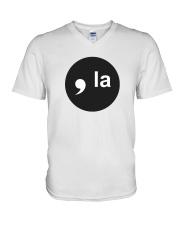COMMA-LA T-Shirt V-Neck T-Shirt thumbnail