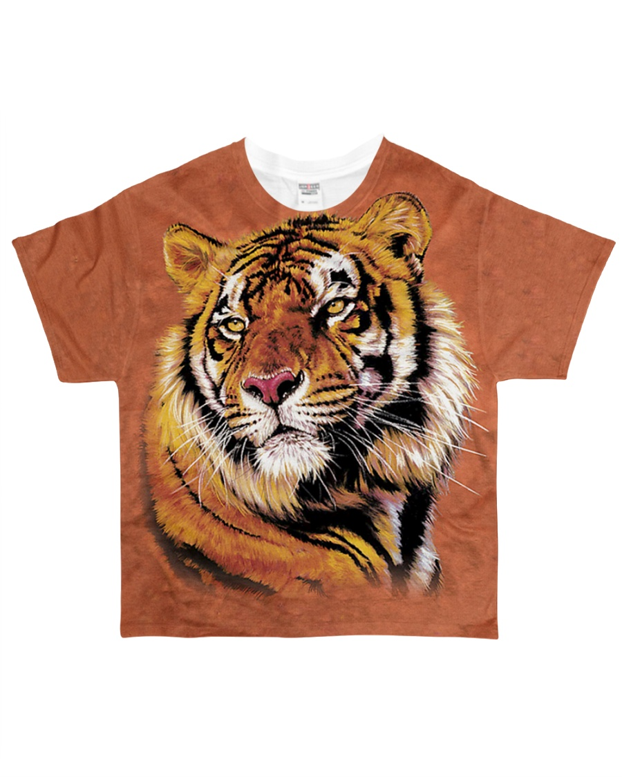 Power and Grace Tiger - All Over Print T-Shirt All-over T-Shirt