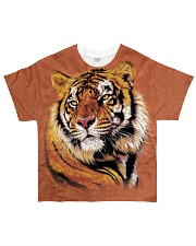 Power and Grace Tiger - All Over Print T-Shirt All-over T-Shirt front