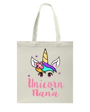 Unicorn Nana tshirt Tote Bag thumbnail