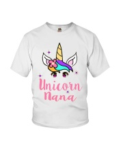 Unicorn Nana tshirt Youth T-Shirt thumbnail