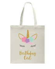 The perfect addition to any Unicorn themedbirthday Tote Bag thumbnail