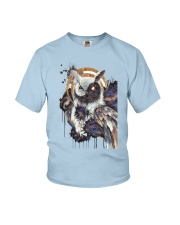 Our Best Owl Art Youth T-Shirt thumbnail