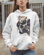 Our Best Owl Art Hooded Sweatshirt apparel-hooded-sweatshirt-lifestyle-07