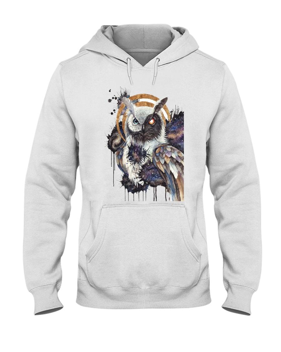 Our Best Owl Art Hooded Sweatshirt