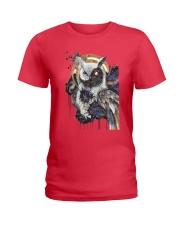 Our Best Owl Art Ladies T-Shirt thumbnail